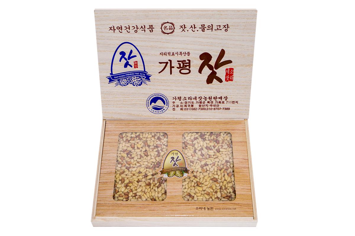 오동나무선물세트 1kg (황잣)