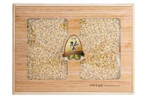 오동나무선물세트 1kg (백잣)